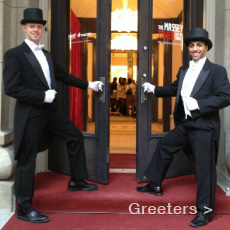 TDC Entertainment, Formerly The Dance Company offers many types of Greeters, Hosts and Hostesses