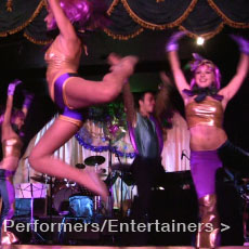 TDC Entertainment Performers and Entertainers