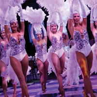 TDC Entertainment delivers the very best Vegas Show Girl Show