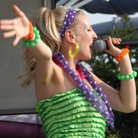 Singers Our live singers are available as Solo acts, or for a real show stopper, in combination with our dancers!