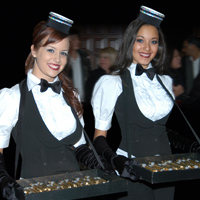 TDC Entertainment, Formerly The Dance Company offers courteous cigar girls